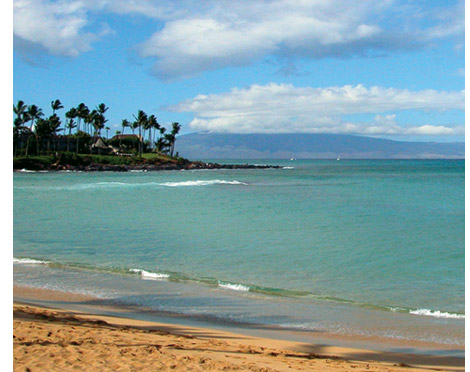 south maui beach photo